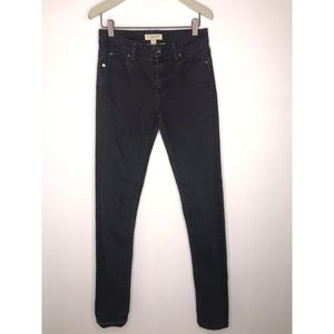 Burberry London Black Skinny Jeans